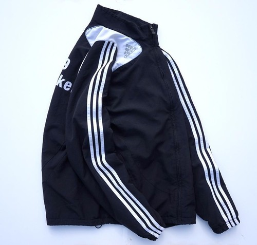 2000's [adidas] 3ライン トラックジャケット モノトーン 表記(XL) アディダス