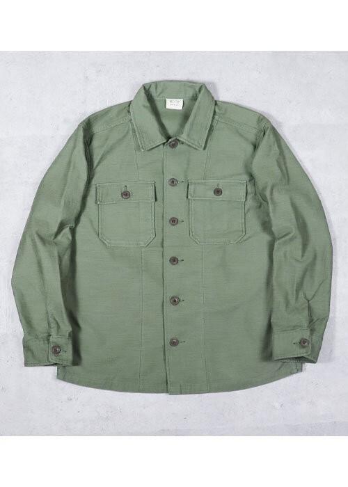USタイプ OG-107 ファティーグシャツ