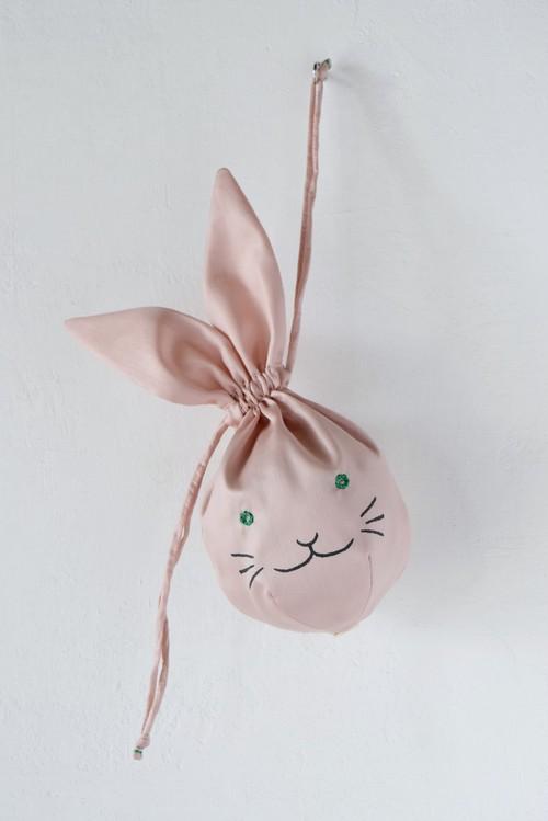 usa kinchaku (pink)