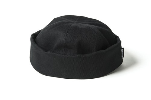 TIGHTBOOTH COTTON ROLL CAP BLACK L タイトブース キャップ