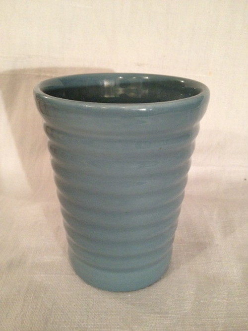 TUMBLER(BAUER POTTERY)   #FRENCH BLUE