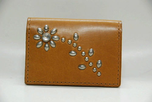 HTC CARD WALLET #FLOWER11 L.BROWN