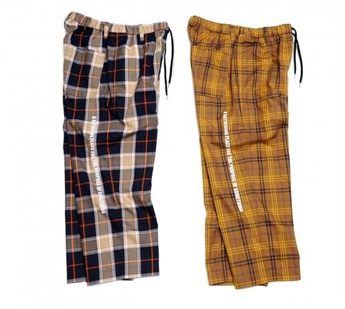[予約商品]EFFECTEN(エフェクテン)twill check Sleeping pants