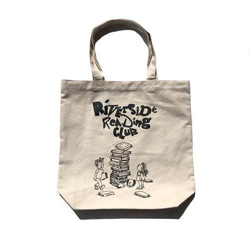 "Riverside Reading Club + stacks bookstore ""Carrying Tote Bag"""
