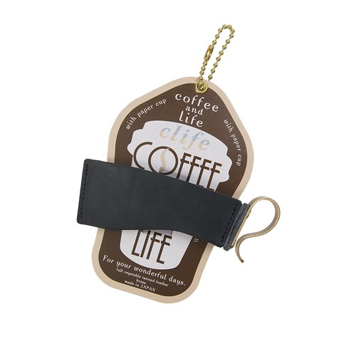 Clife coffee and life カップホルダー NAVY