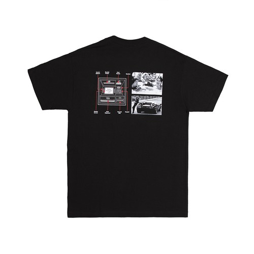ALLTIMERS (オールタイマーズ) / GUIDE TO LIFE TEE -BLACK-