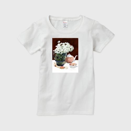 レディースTシャツ ノコギリソウとスージークーパー