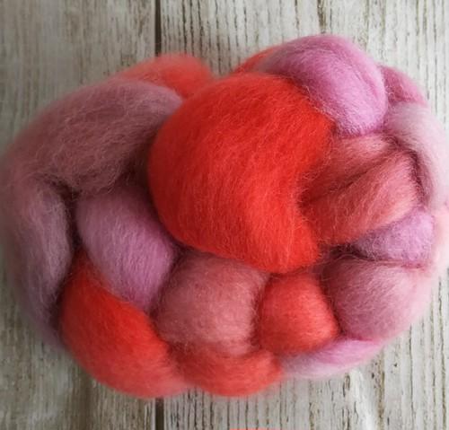 手染め羊毛ミニ レインボー染1103  約20g