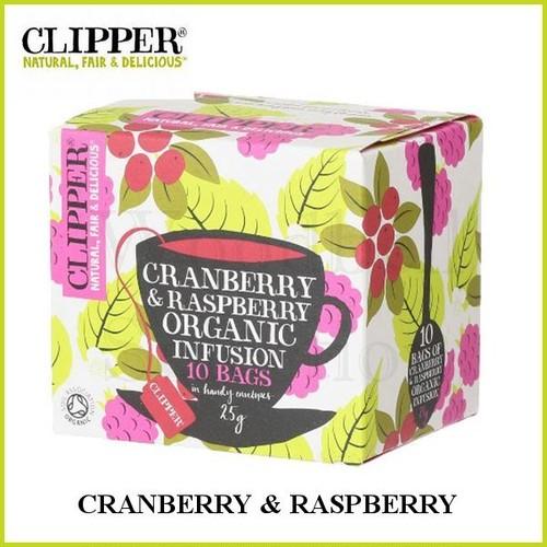 CLIPPER(クリッパー/オーガニック/クランベリー&ラズベリー)