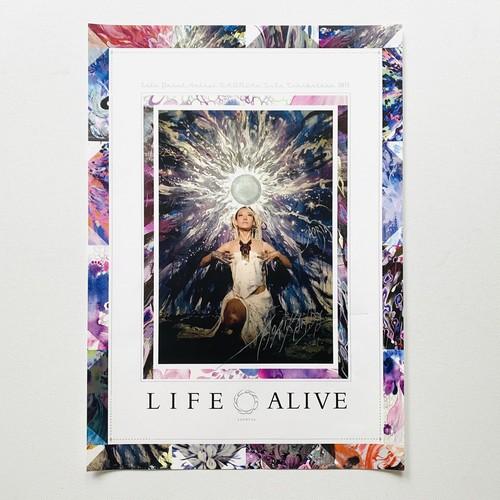 LIFE ALIVE A3 poster / 直筆サイン入り