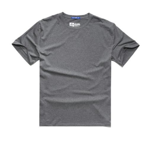 メンズ大きいサイズ重ね着も○シンプルコットンTシャツ5色