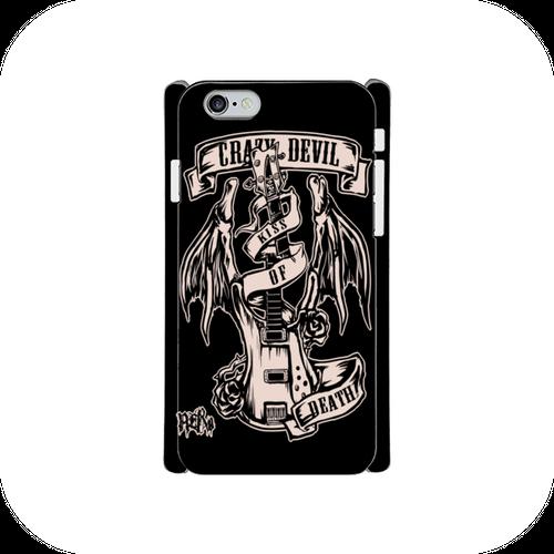 #016-016 iPhone8対応 クール系・ロック系 《KISS OF DEATH》 iPhoneケース・スマホケース  作:nero Xperia ARROWS AQUOS