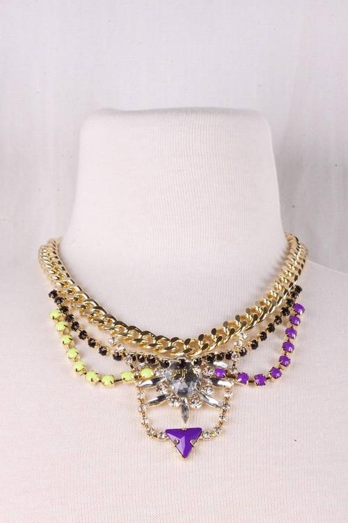 Bicolor Bijoux Necklace