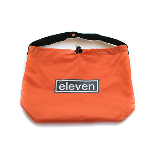 NYLON BAG / S / ORANGE