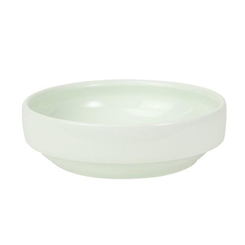 【1714-6220】強化磁器 14.5cm すくいやすい食器 ノア・アクア