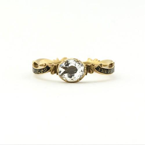 Georgian Crystal Memorial Ring