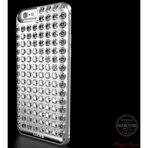 LUCIEN(ルシアン) iPhone6 Plus/6S Plus case CHROME <ARGENT WHITE>