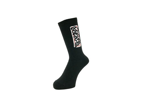 WHIMSY - 30/2 ROGUE SOCKS (Black)