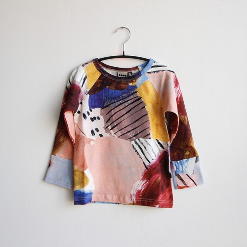 《PAPU 2020AW》FOLD SHIRT / MULTICOLOR