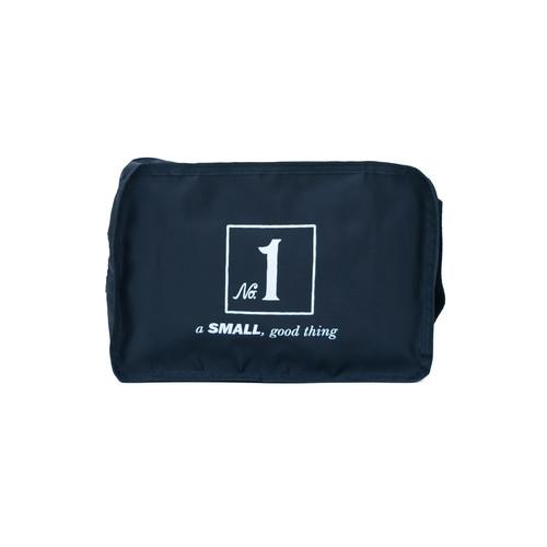No.1 Travel Pouch (Print) Black  LO-STN-PC01