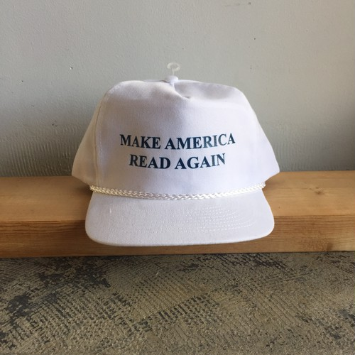 Strand Book Make America Read Again Cap