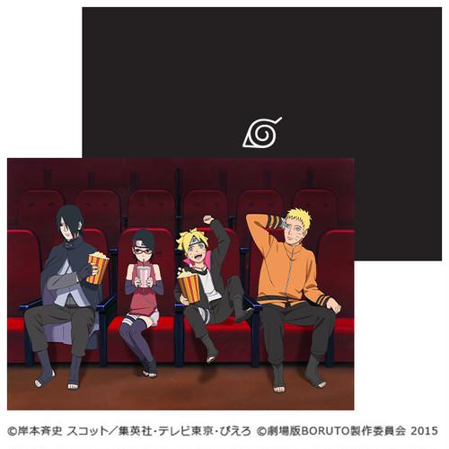 【BORUTO】劇場版限定:原画クリアファイル