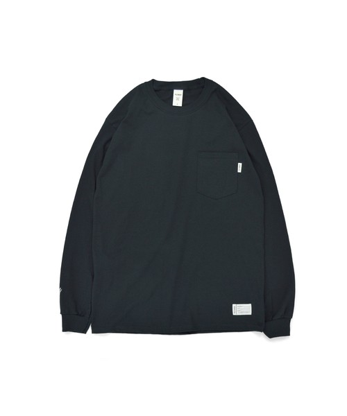 All of L/S Pocket Tee (noTHIN') / BLACK
