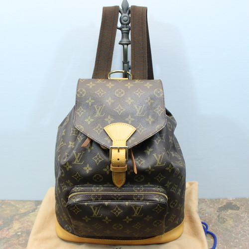 .LOUIS VUITTON M51135 MI0976 MONTSOURIS GM MONOGRAM RUCK SUCK MADE IN FRANCE/ルイヴィトンモンスリGMモノグラムリュックサック 2000000029290