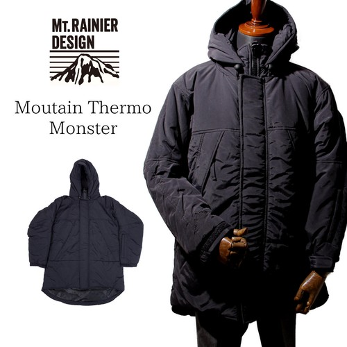 MT.RAINIER DESIGN | Moutain Thermo Monster Jacket - Black [700063003]