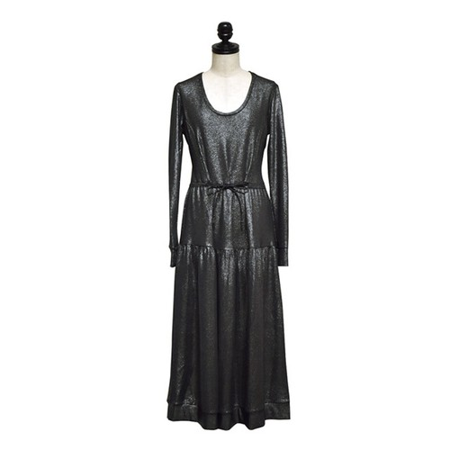 SABINA MUSAYEV / TINA DRESS / Silver-black