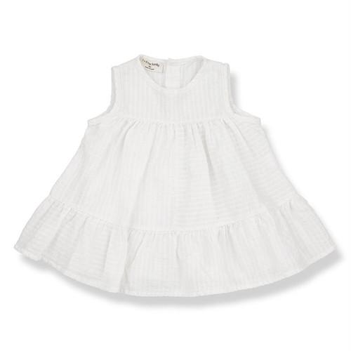 1 + in the family(ワンモアインザファミリー) / ORIO Dress / 80cm / オフホワイト