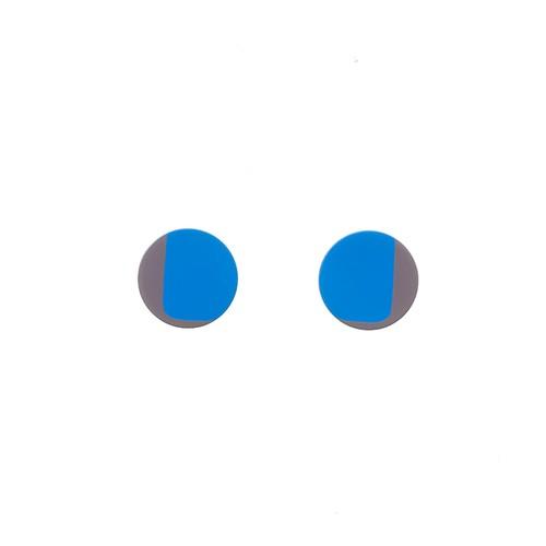 Silkscreen Printed Earrings - 2 colors 05