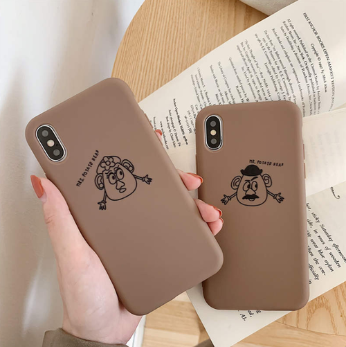 【オーダー商品】Couple Mr&Mrs potato iphone case