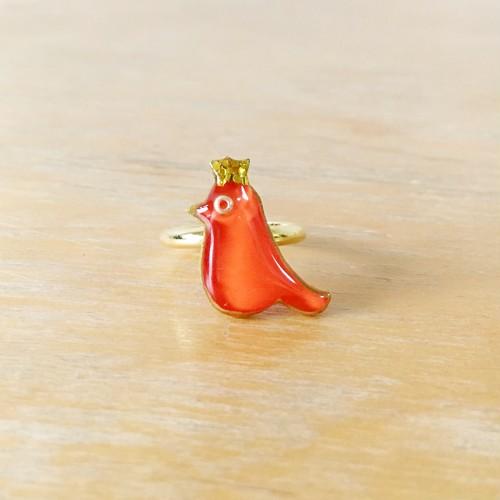 オレンジ色の小鳥リング〜メアリー〜