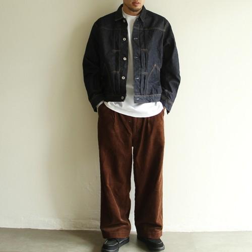 H.UNIT【 mens 】corduroy crownsize trousers