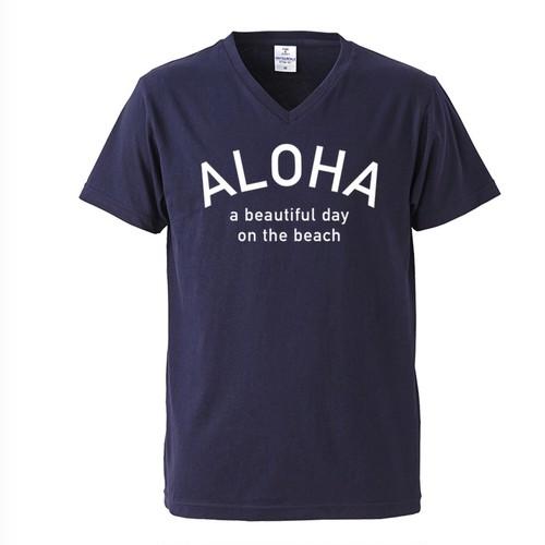 ALOHA Tee - Navy