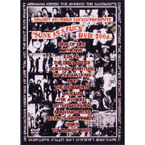 V.A./PUNK AS A FUCK DVD 2004