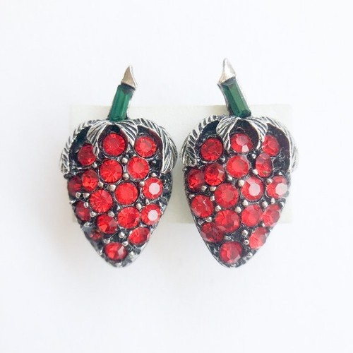 strawberry earring[e-287]