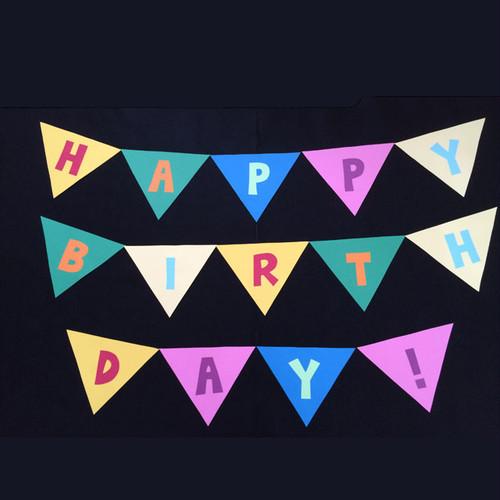 HAPPY BIRTHDAY!!の壁面装飾