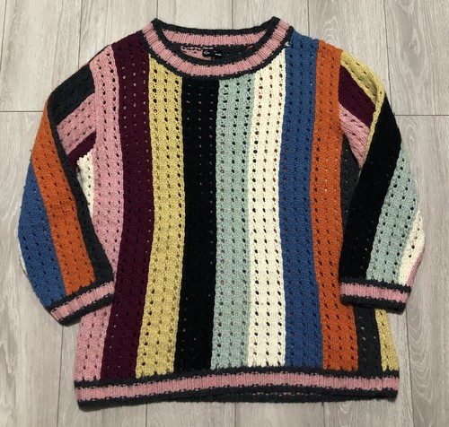 2000s KIM JONES MULTIPLE STRIPED JUMPER