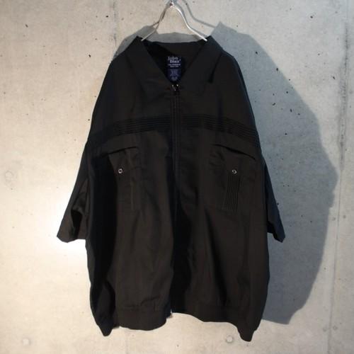 3XL Poly Cotton Zip Shirt