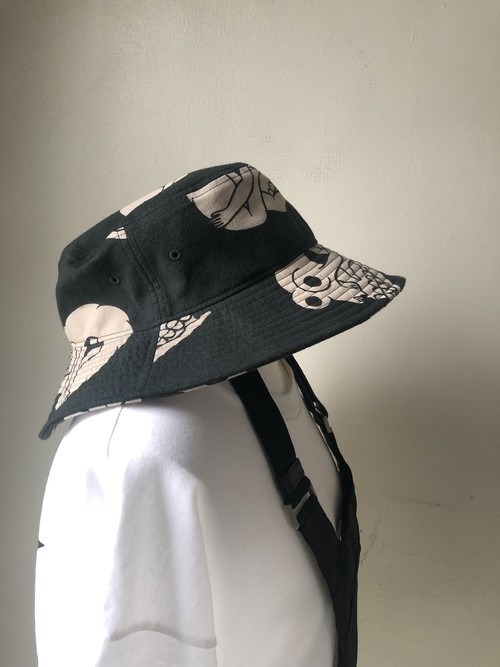 blackweirdos / Skull Pattern Bucket Hat