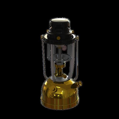 Vapalux Lantern M320  ヴェイパラックスランタン M320 ポリッシュドブラス