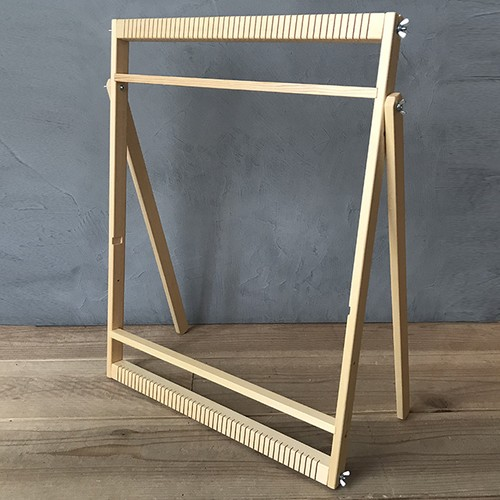 <Found & Made> Weaving Loom Stand / 手織り木枠のスタンド(L)