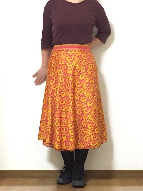dss-047 シルクサリー巻きスカート ショート