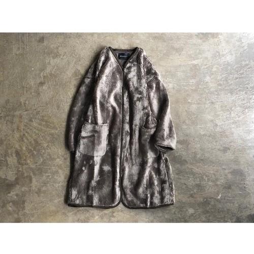 mizuiro ind(ミズイロインド) Boa Fleece V Neck Jacket