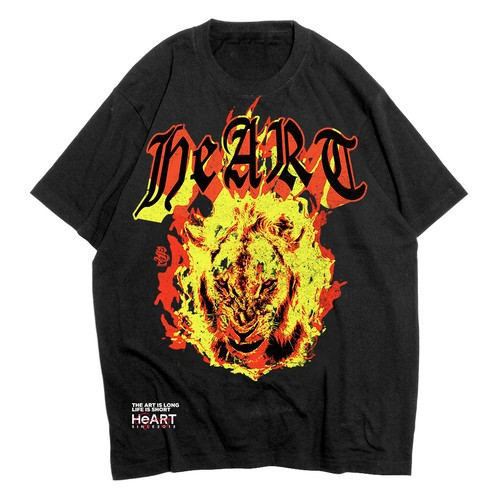 """Burning LION"" T-shirt"