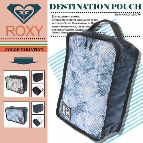 ROA194376 ロキシー ポーチ レディース 小物入れ 機能的 おしゃれ かわいい 人気 ブランド ミニバッグ トラベルポーチ ボタニカル DESTINATION POUCH ROXY