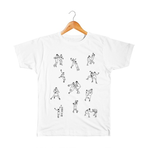 バスケ キッズTシャツ