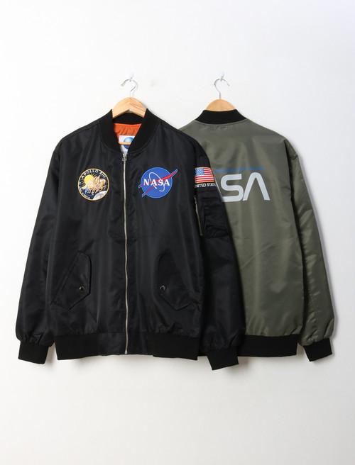 NASAエアポートジャンパー ★UNISEX MA1 エムエーワン ジャンパー 韓国ファッション